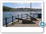 Fowey Harbour, eat great fish and chips but watch out for the thieving Herring Gulls!