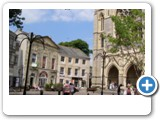 Truro Cathedral and shops, you can spend a whole day here.