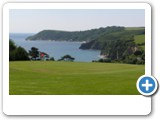 Porthpean Golf Course. One of the closest to the cottage with stunning views and varied holes to play.